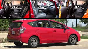 2015 Toyota Prius v Review - YouTube