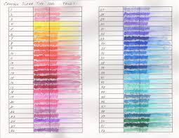 Crayola Supertips 50 Color Chart 29 Proper Super Color Chart