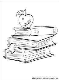 Disegno Di Libri Di Scuola Da Stampare Disegni Da Colorare Gratis