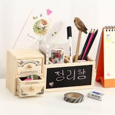 cute office. Wood Wooden Desk Organizer Cute Desktop Pen Pencil Holder For Office I