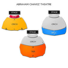 Abraham Chavez Theatre 2019 Seating Chart