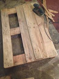 Wood Pallet Table Top Pallet Table Coffee Couch Table From Euro Pallets Diy Pallet