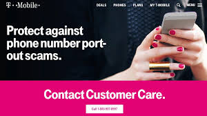 how to port a phone number t mobile warns customers of sim card port out scam calls