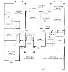 home plans with two master suites attractive best one story house plans with 2 master suites