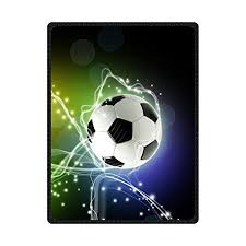 Soccer Blankets And Throws