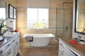 freestanding tub with shower enclosure. 4 master bath spa ideas featuring freestanding white ceramic tub without claws and wooden laminated vanity with drawers based shower enclosure e