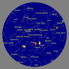 Treasure Chart 6 Treasure Coast Astronomical Society Galileo Night Sky