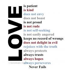 Quotes Of Love From The Bible