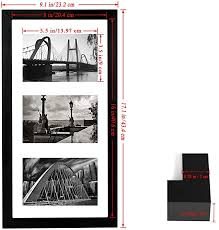 Custom frames online for movie, concert, and vintage posters. 8x16 Black Wooden Picture Frame Photos Instagram Poster Frame And Three 4x6 Photo Frames With Mat By Bojin Shop Online For Homeware In The United States