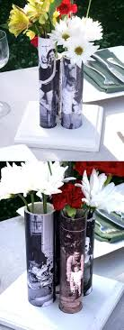 Mother's Day photo vases from PVC pipe