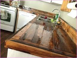 diy wood countertops wood home design ideas diy reclaimed wood island countertop