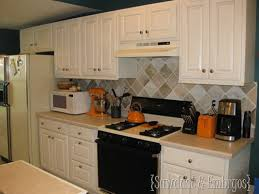 Painting Kitchen Tile Backsplash Awesome How To Paint A Backsplash To Look Like Tile Reality Daydream