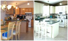 painted oak kitchen cabinets white cathedral style before and after painting uk full size