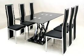 round gl dining room tables and chairs gl chair round gl dining table and 6 chairs