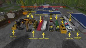 Modpack For Mining Construction Economy Map V2 Ls15 Mod Download