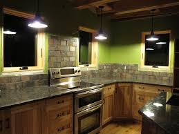 Kitchen With Stone Backsplash Kitchen Stone Backsplash The Kitchen Remodel