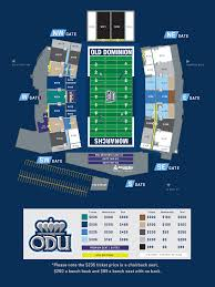 Foreman Field Seating Chart Odaf New Membership Plan Old Dominion Athletic Foundation