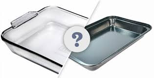does it matter whether you use a glass or metal baking dish