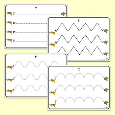 Writing Patterns Enchanting Tt' Themed PreWriting Patterns Primary Treasure Chest