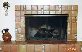 Southwest Fireplace Design Ideas Saltillo Tile Fireplace Ideas Phoenix Tile Installer