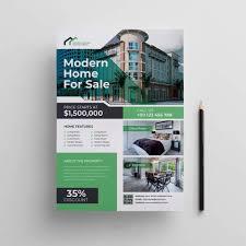 Real Estate Marketing Flyer Design 02 Cinemaflight