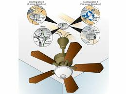 new install ceiling fan no existing light fixture 33 on 52 inch ceiling fan with light