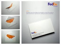 Fedex Brochure Design Fedex Envelope Business Card Design Unique Business