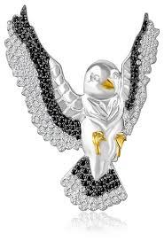 Бронницкий Ювелир <b>Брошь</b> из серебра 2700050-00215 — купить ...