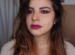 mac azalea blush makeup look pink hot fuchsia eyeshadow lips lipstick smokey eye