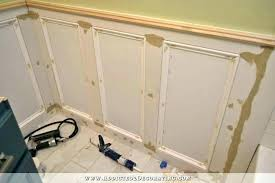 wall panel molding moulding kits bathroom walls recessed wainscoting with tile accent 6 kit ideas frame