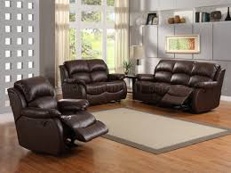 Leather Reclining Living Room Sets Fabric Sofa Recliner For Leather Reclining Ideas Home And Interior