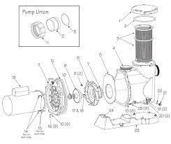 waterway svl56 high flow pump replacement part schematic how to wire a 2 speed hot tub pump at Waterway Executive 56 Wiring Diagram