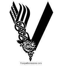 Vikings Serie Logo Symbol Vector | FreePatternsArea