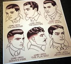 1920 Hair Style 1920s gentlemens hairstyle guide by quyen dinh rpgs coc 6117 by wearticles.com