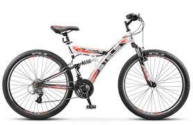 <b>Велосипед</b> двухподвес <b>Stels Focus V</b> 18 sp (2017), цена - 10296 руб.