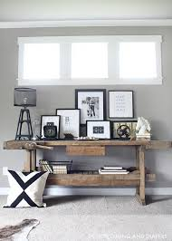 Catchy Rustic Console Table DIY and Best 25 Rustic Console Tables