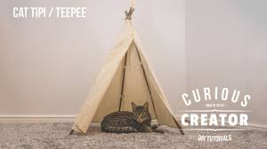 20 cat or pet tipi tee diy curious creator