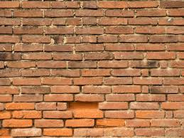 old brick wall backkground orange brick wall