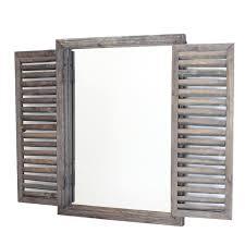 Holz Spiegel Fenster Im Frank Flechtwaren Und Deko Online Shop