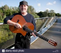 Dennis Cahill Traditional Irish music Guitarist from Chicago Stock ...