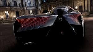 Car Body Lights Ds X E Tense Concept Parametric Tail Lights Design Car