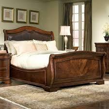 elegant bed frames.  Bed Elegant Heritage Court Leather Sleigh Bed Images With Frames E