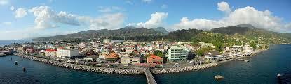 Dominica is a small, fertile island in the eastern caribbean sea. Roseau Dominica 1650