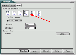 Printing Envelopes Diagnostics For Openoffice Org