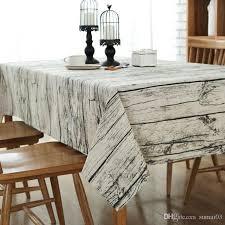 bz301 european style tablecloth cotton linen fabric table cloth tovaglia rettangolare tovaglia plastificata home decoration 90 round tablecloths polyester