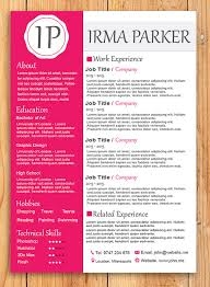 Custom Resume Templates Interesting Custom Resume Templates SALE Modern Feminine R Sum Template CV
