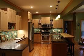 Maple Kitchen Cabinets Contemporary Countertop Maple Kitchen
