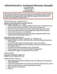 Resume Examples Objectives Delectable Admin Assistant Career Objective Example Resume Examples Objective