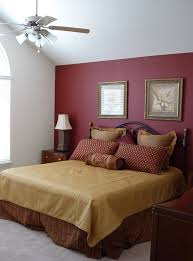 accent walls for bedrooms. Large Master Bedroom With Red Accent Wall Paint New, Walls For Bedrooms T