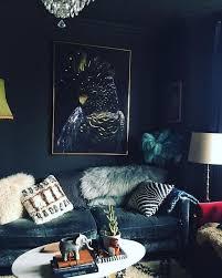 10 dark living room ideas that will